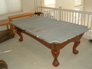 Proper pool table moving process in Kissimmee Forida